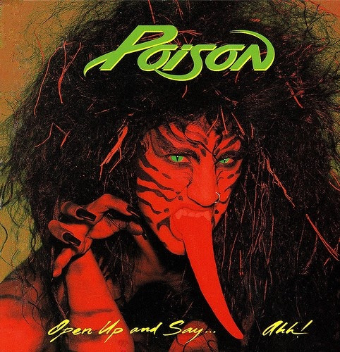 Poison  Bret  The very 1st cassette I picked for myself back in '88!  Still freaking love my glam rock x