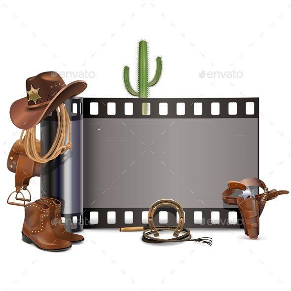 Vector Cowboy Film