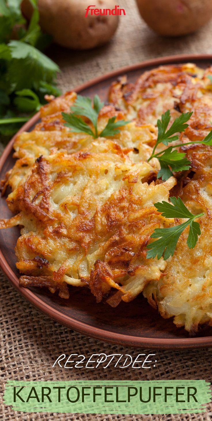 Leckere Rezeptidee: Kartoffelpuffer