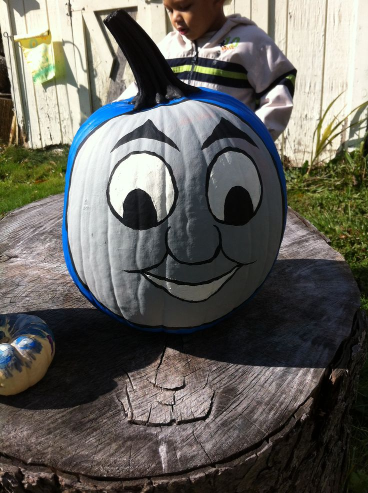 Thomas The Train Pumpkin