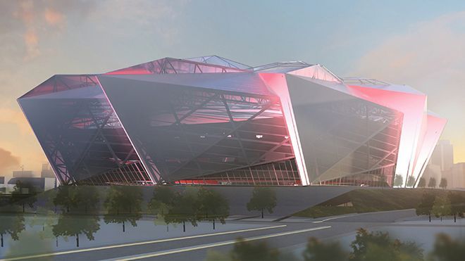 Future Atlanta Falcons Stadium