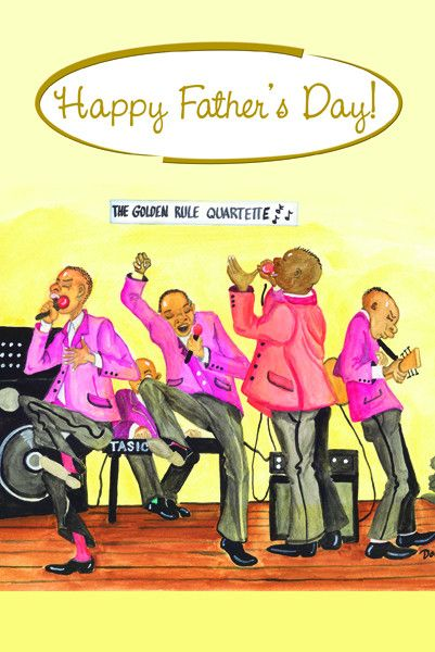 Assorted Father's Day Cards | African American art | Fathers day