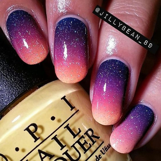 40+ Trendy Ombre Acrylic For Oval Nails In 2017 #27 – Nails Summer