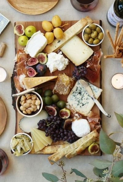 There is nothing better than a dreamy cheese plate.
