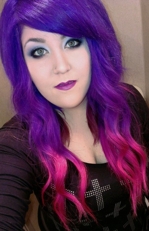 Purple and pink hair | Nights out | Pinterest | Pink hair