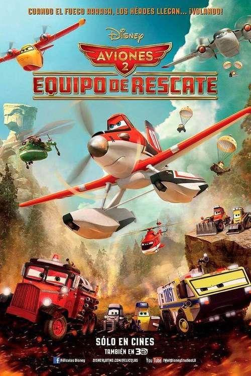 Watch Planes: Fire & Rescue Full Movie Online