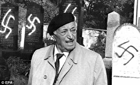 "This Day In History - Feb 19.  On February, 19, 2004, Nazi-hunter Simon Wiesenthal is awarded an honorary knighthood in recognition of a ""lifetime of service to humanity."""