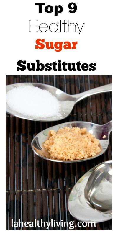 9 Healthy Sugar Substitutes