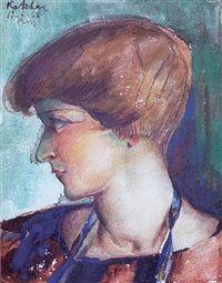Portrait de Meliné by Ervand Kotchar