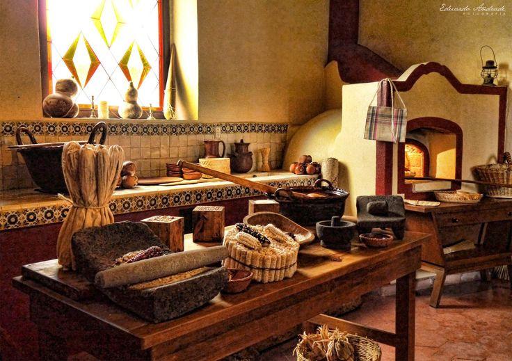 Cocinas tradicionales de Mxico  Fotografas Varias