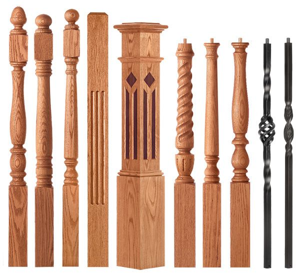 Best Handrail Styles Candlesticks Interior Staircase Newel 400 x 300