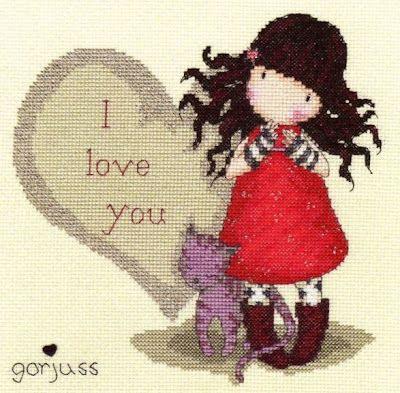 My Cross Stitch Gallery: 68 :: Gorjuss - I Love You