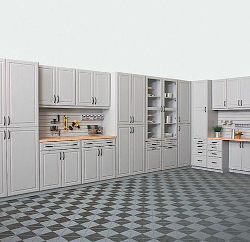 Custom garage closets garage cabinets and storage organizers