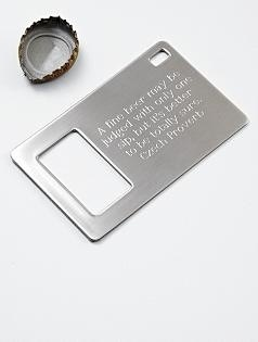 Wallet bottle openers for the groomsmen themarriedapp.com hearted <3