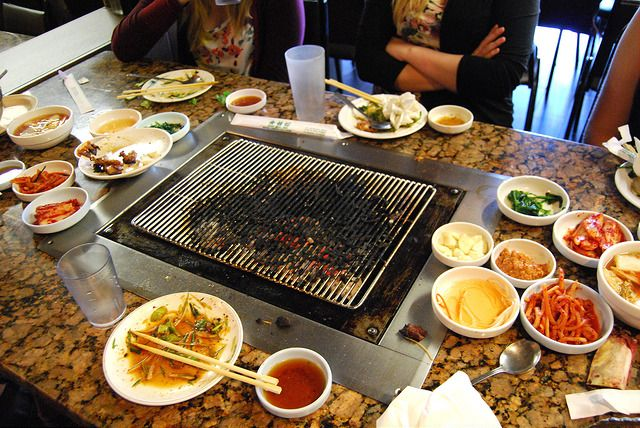 Rachel Phipps: Places To Eat In Los Angeles: Soot Bull Jeep, Koreatown - Korean BBQ