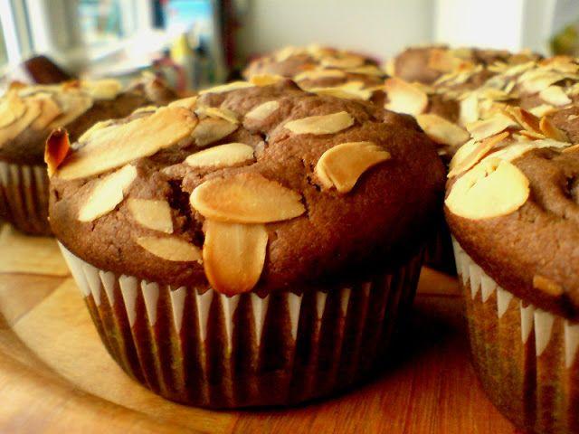 loveginger: Muffiny kakaowe z bananami