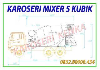 KAROSERI TRUCK MIXER >> KAROSERI KENKA