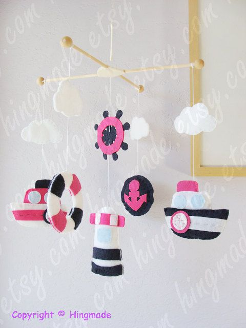 Hey, I found this really awesome Etsy listing at https://www.etsy.com/listing/152881661/baby-mobile-hanging-nautical-ship-mobile
