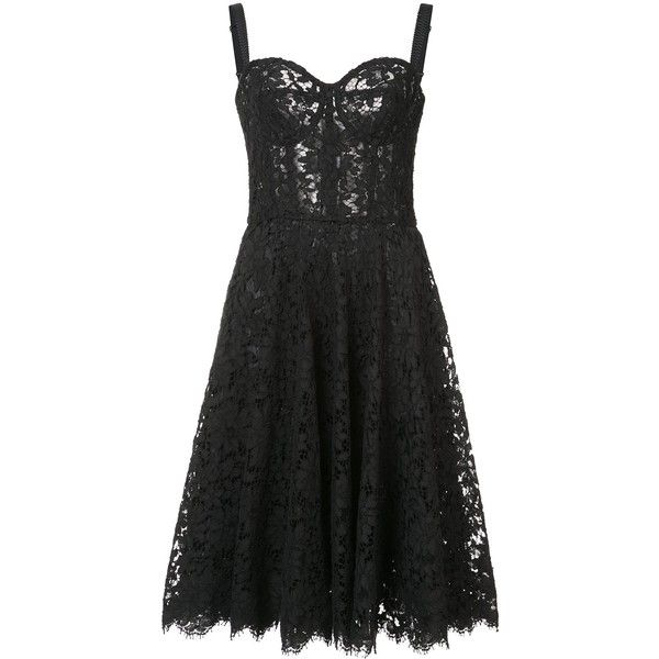 Dolce and Gabbana Cotton-Blend Lace Dress ($2,595) ❤ liked on Polyvore featuring dresses, kirna zabete, kzloves /, the attico edit, cotton blend dresses, elastic dress, lacy dress, bustier dress and dolce gabbana dress