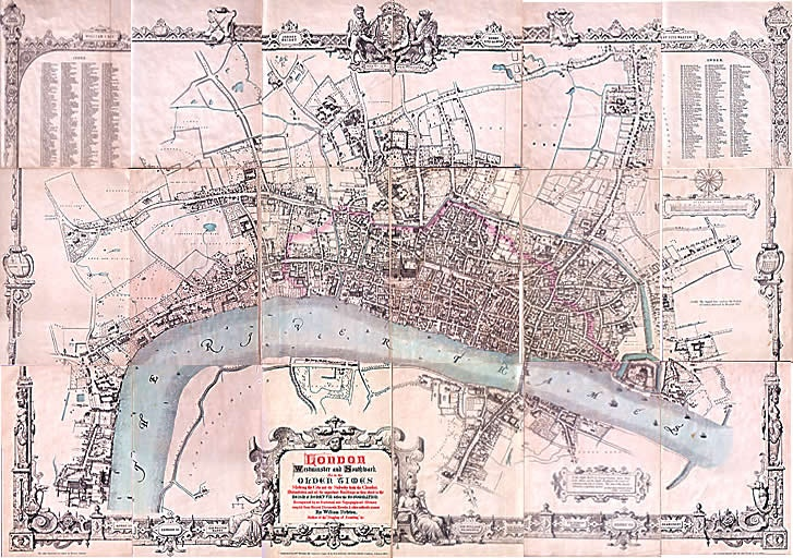 London and Westminster in the time of Henry VIII (pre 1530 ...
