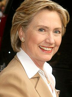 Hillary Clinton, former First Lady and Secretary of State.