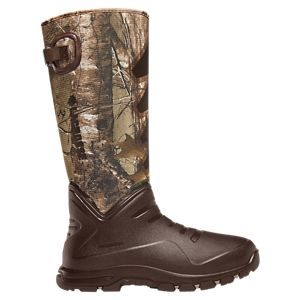 LaCrosse Aerohead Sport Insulated Waterproof Hunting Boots for Men -Brown/Realtree Xtra - 11M
