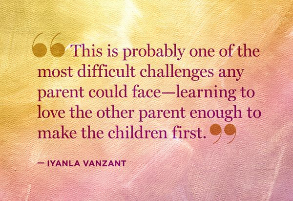 Nine Quotes About The Challenges Of Co-Parenting #FixMyLife