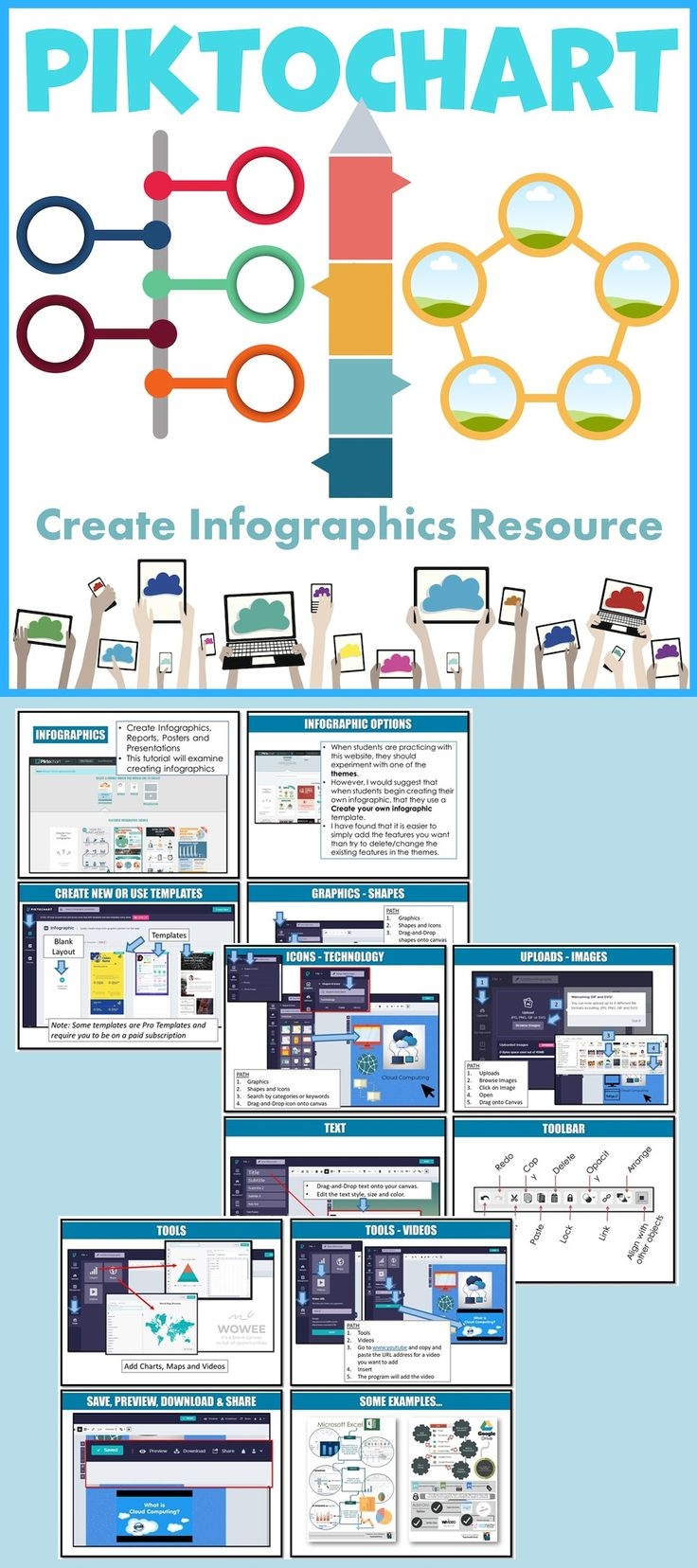 Create Infographics Lesson & Activity How to create