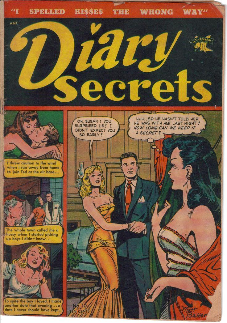 Burkes Golden Age of Romance Comics: A collection of Golden Age Romance Comics. (Volume 1)