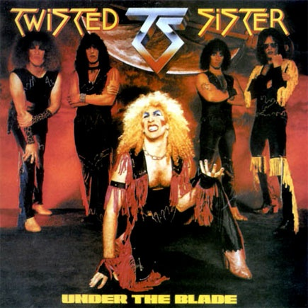 Twisted Sister-Under the Blade.....