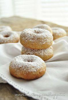mini donuts allo yogurt con alimenti salutari