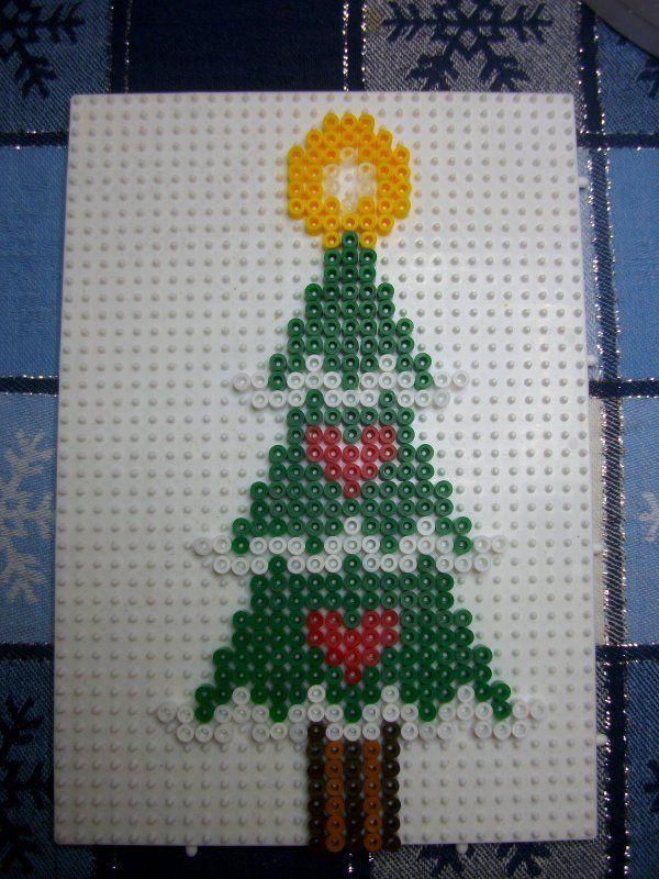 Beads On Christmas Tree