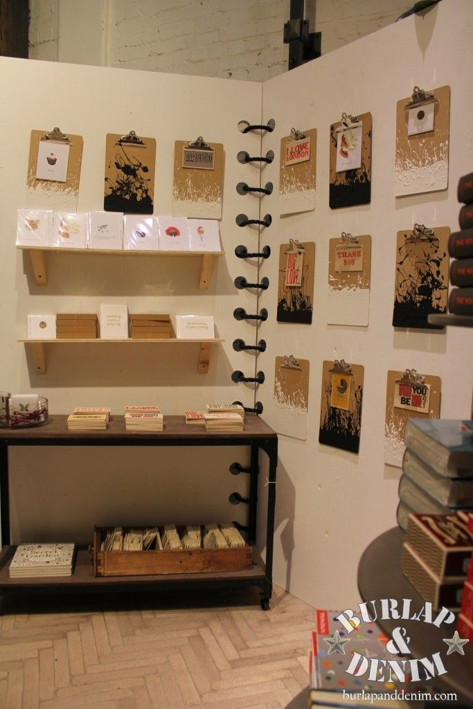 Awesome!...Giant Spiral Notebook Display for Stationary in the London Anthropologie Shop