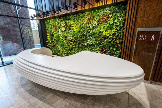 Reception desks | Entrance-Reception | Reception desk | AMOS. Check it out on Architonic