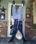 Upside Down Old Man Homemade Costume - 2013 Halloween Costume Contest