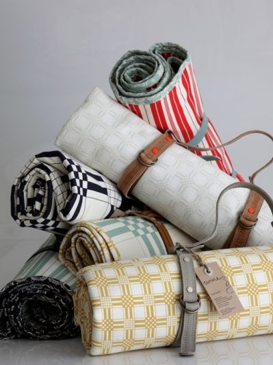 If I had a sewing machine, i'd totoally attempt to make one of these. However, since I dont I'll just go with these cuties that are pre-made :) #picnic blankets from twine fabric