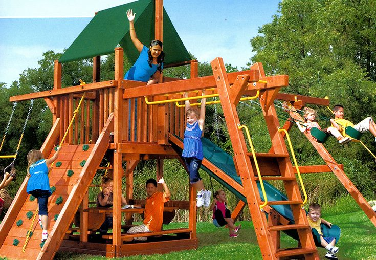 Play centre by Flamborough Patio