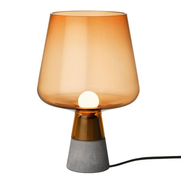 Leimu lamp small, copper by Iittala