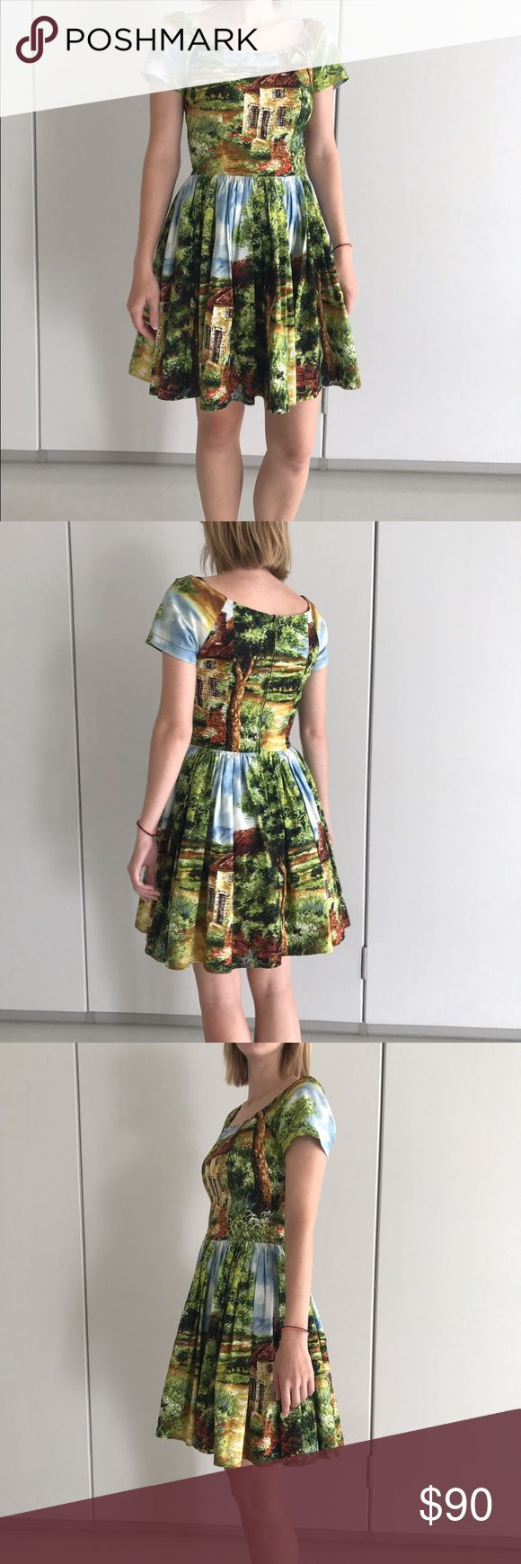 Selling this Bernie dexter cottage print dress *with pockets!* on Poshmark! My username is: chrshevlin. #shopmycloset #poshmark #fashion #shopping #style #forsale #bernie dexter #Dresses & Skirts