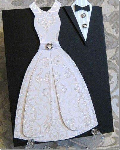 Пригласительная открытка на свадьбу или раут