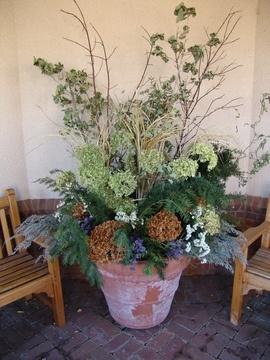 Dried Fl Natural Flower Arrangement