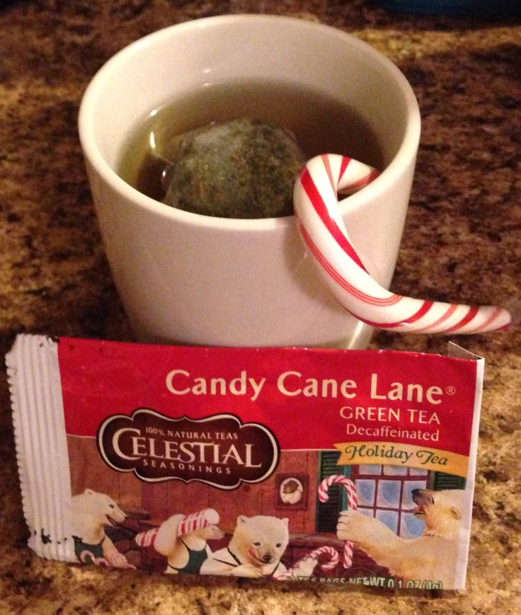 Candy cane lane tea Influenster CelestialTea