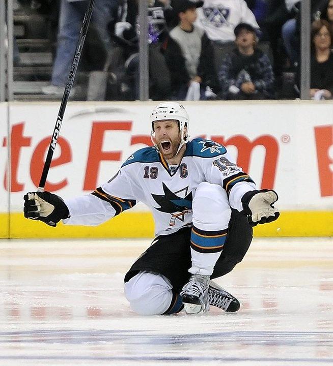 Joe Thornton, San Jose Sharks ..a great moment!