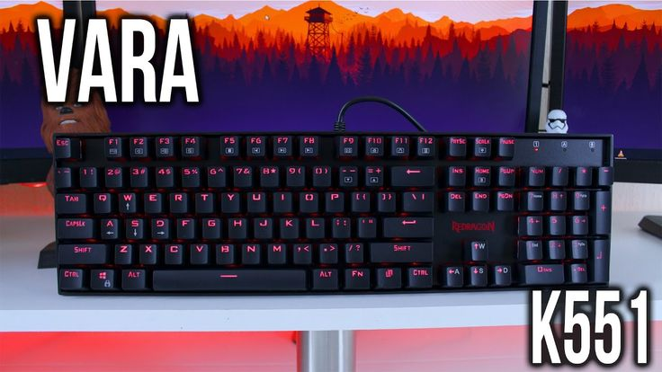 Great Budget Mechanical Keyboard - Redragon Vara K551 Review