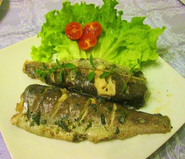 Culinaria  direto da Italia: Truta com ervas finas