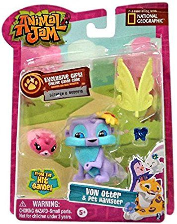 Animal Jam 16802 Otter Figures with Accessories
