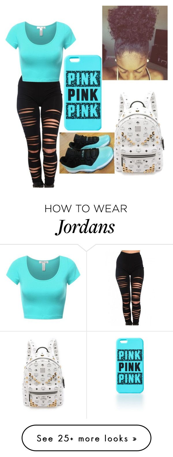"""Untitled #52"" by shania2cute on Polyvore featuring Akira and MCM"