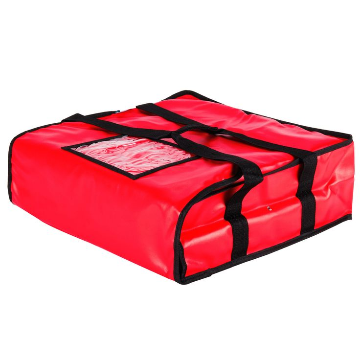 """Pizza Bag 20"""" X 20"""" Holds 2 Of 18"""" Pizza/Case of 4 Tags:  Pizza Delivery Bag; Pizza Store Tool; Synthetic Leather Pizza Delivery Bag;Synthetic Leather Red Pizza Delivery Bag; https://www.ktsupply.com/products/32806350319/Pizza-Bag-20doublequote-X-20doublequote-Holds-2-Of-18doublequote-PizzaCase-of-4.html"""