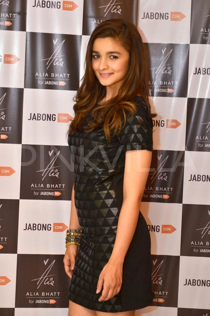 Alia Bhatt has turned designer for e-commerce website Jabong. The actress unveiled her winter fall collection at an event in Mumbai on Monday.