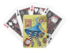 Alice in Wonderland Playing Cards  --- Get 20% off until 10/12/2015 #Christmas2015 #StockingFillers